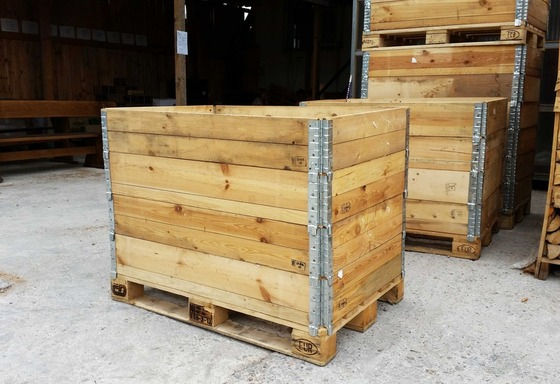 Used Pallet Collars for Europallets